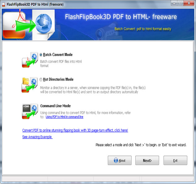 FlippingBook3D PDF to HTML Converter 2.6