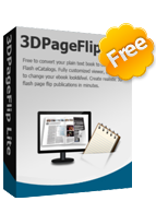 PageFlip 3D PDF Creator Software - PageFlip 3D eBook maker