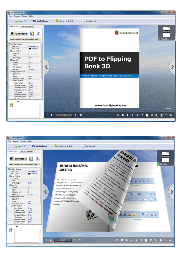 PDF to Flipping Book 3D 2.9 full