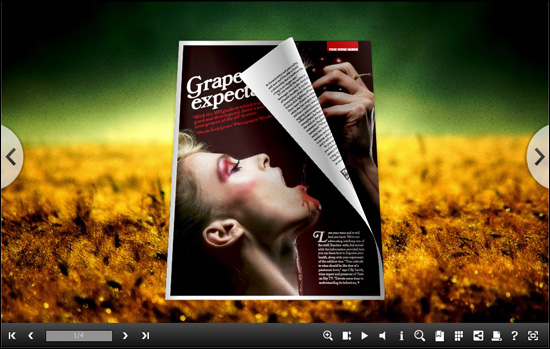 Windows 7 Flipping Book 3D Themes Pack: Drama 1.0 full