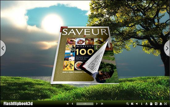 Flipping Book 3D Themes Pack:Flipped full screenshot
