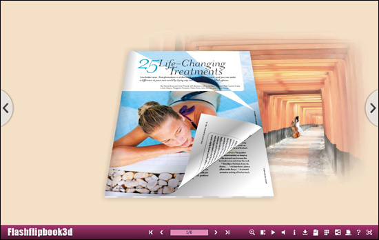 Flipping Book 3D Themes Pack: Gentle 1.0 full