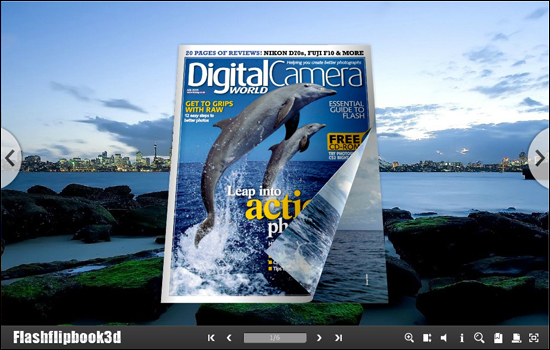 Flipping Book 3D Themes Pack: Majestic