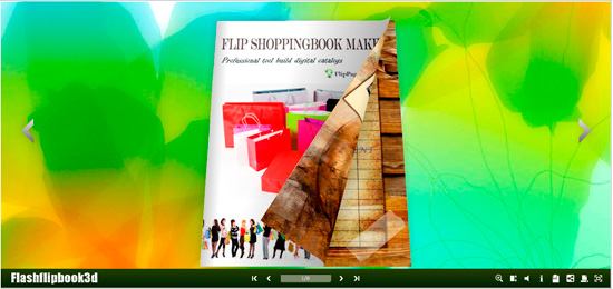Windows 7 Flipping Book 3D Themes Pack: Smile 2.1 full